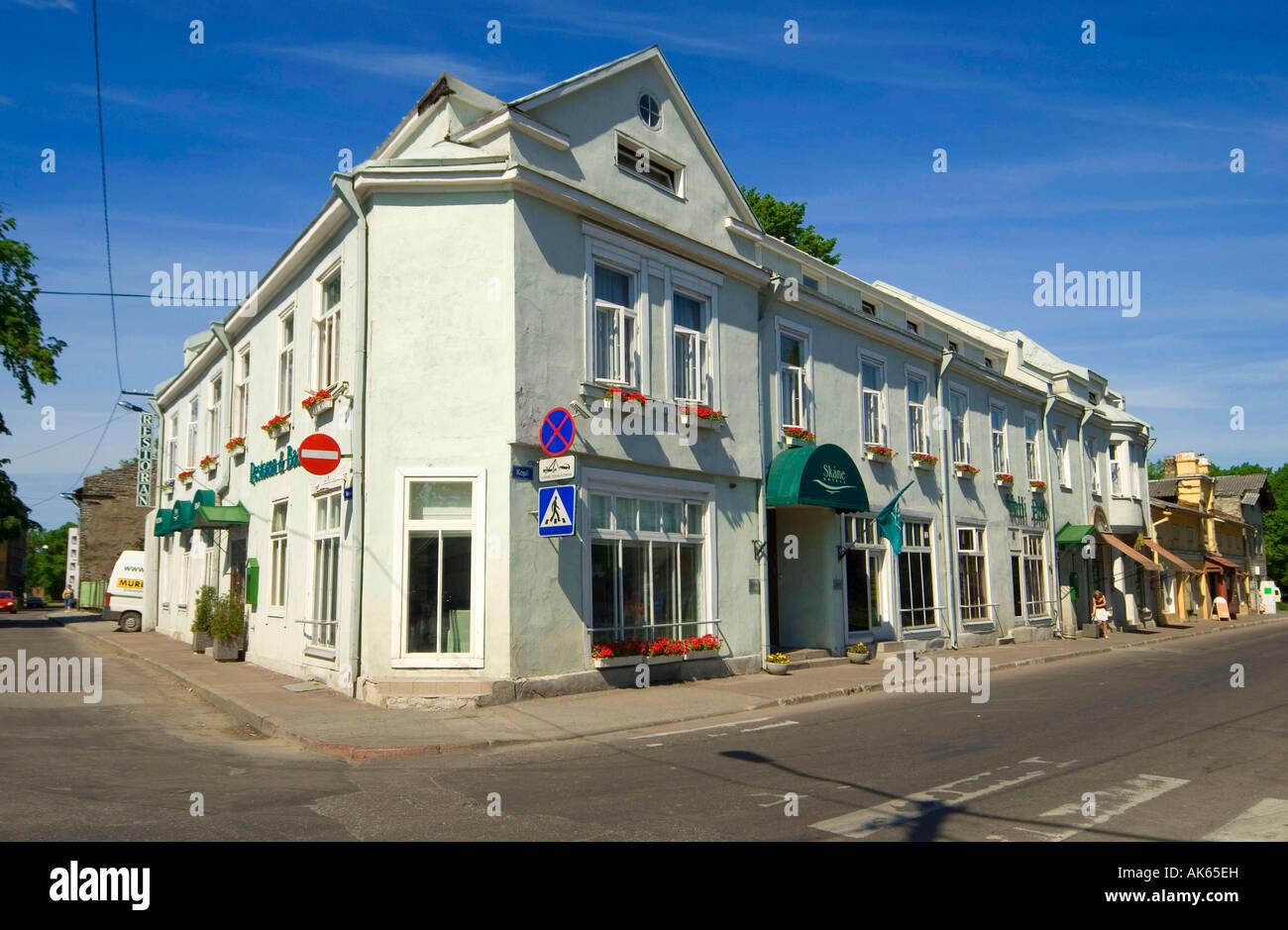 Hotel Skane / Tallinn - Stock Image