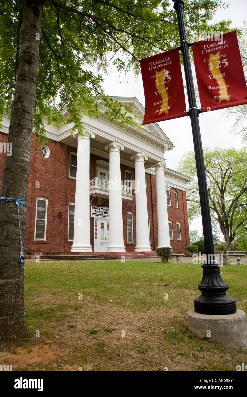 Carnegie Hall on the campus of Tuskegee Institute - Stock Image