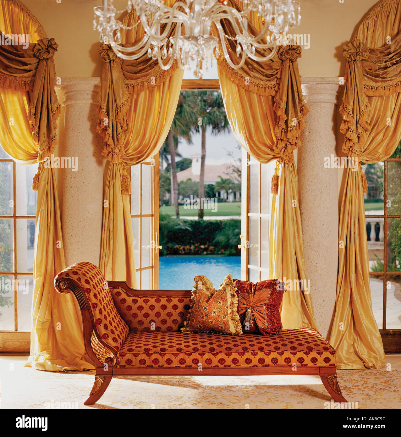 Interior of a classic home - Stock Image