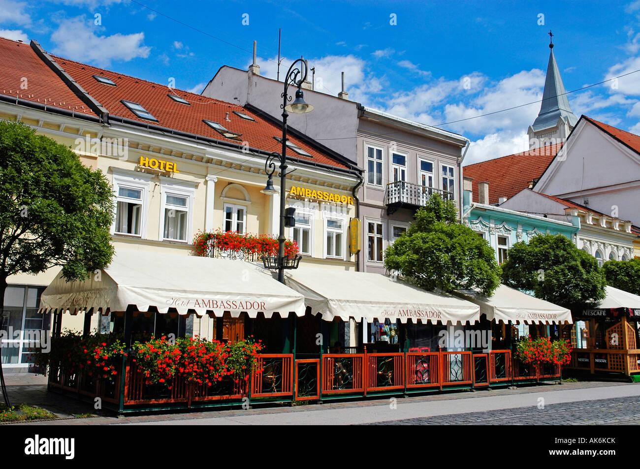 Hotel Ambassador / Kosice - Stock Image