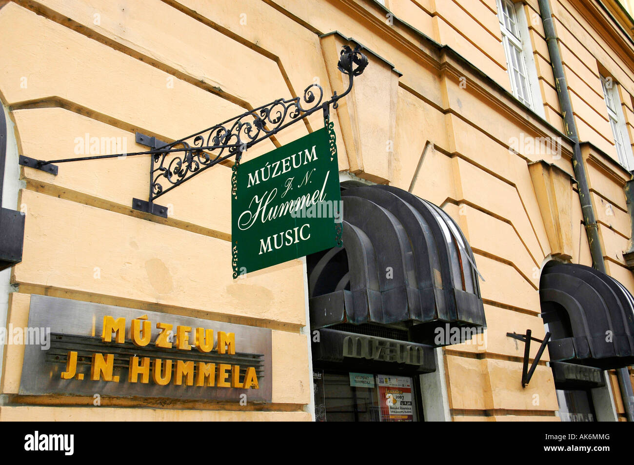 Museum J. N. Hummel / Bratislava - Stock Image