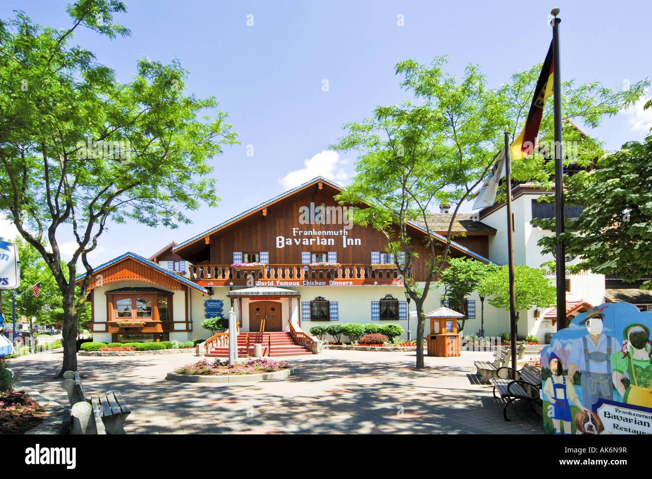frankenmuth bavarian inn stock photos frankenmuth bavarian inn