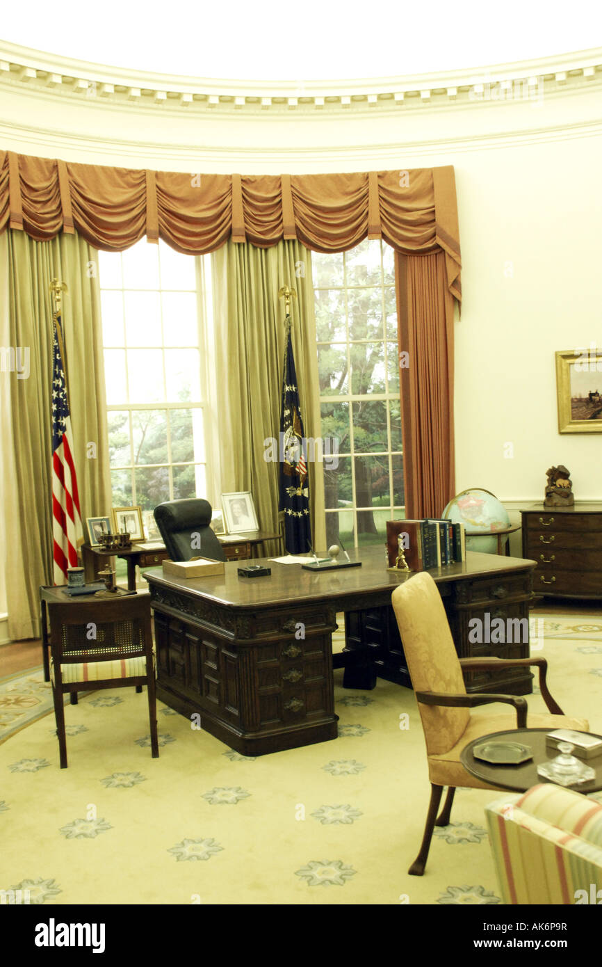 the oval office white house. The Oval Office At White House In Washington DC E