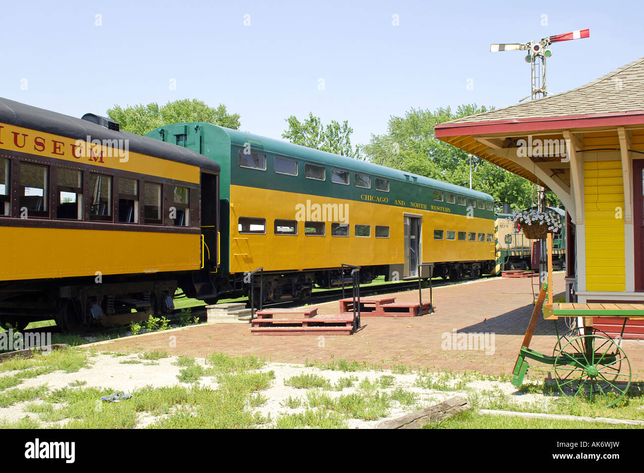 National Railroad Museum >> Railroad Carriage Ride At The National Railroad Museum Green Bay