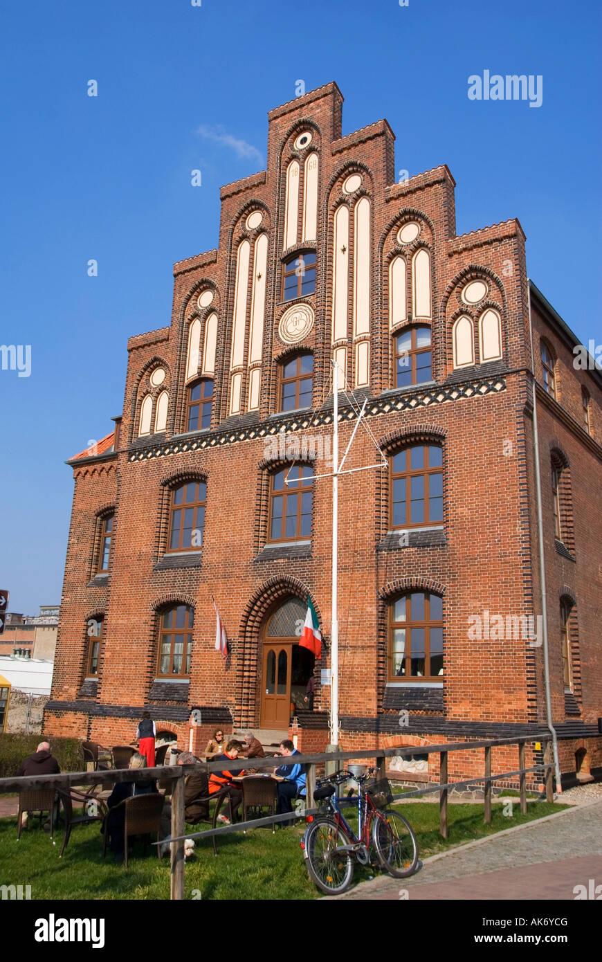 Custom House / Wismar - Stock Image