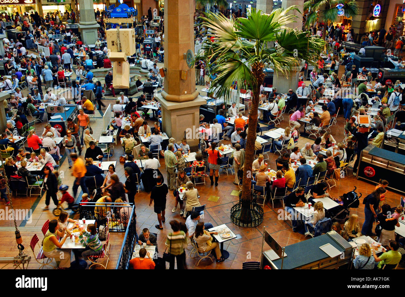 Shopping centre CentrO / Oberhausen Stock Photo