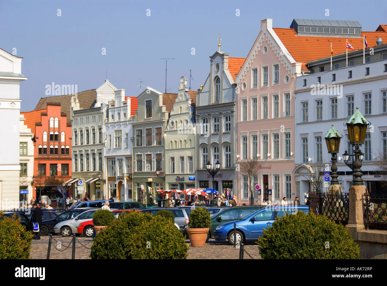Houses / Wismar - Stock Image