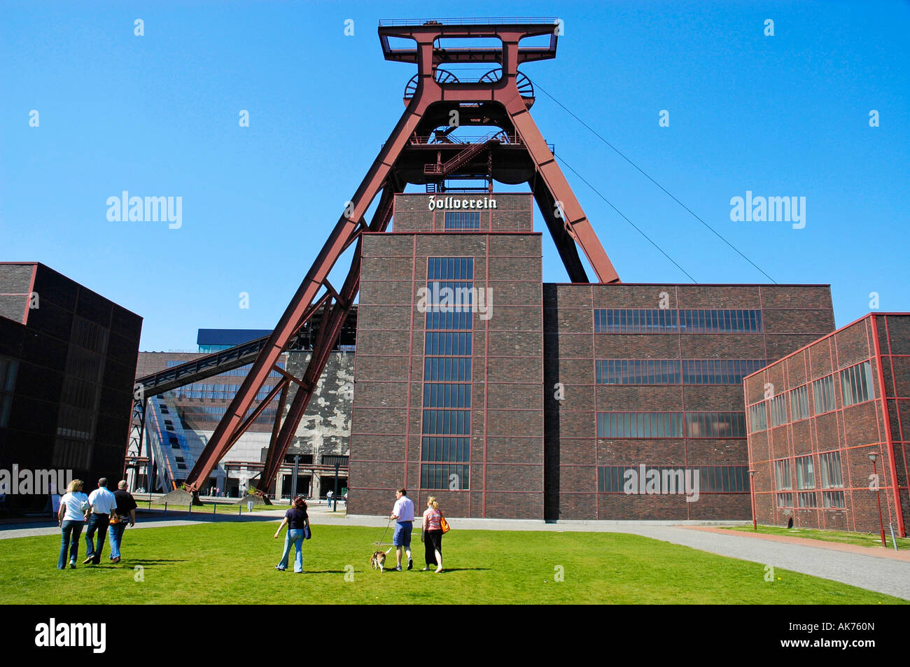 Coal mine Zollverein / Essen - Stock Image