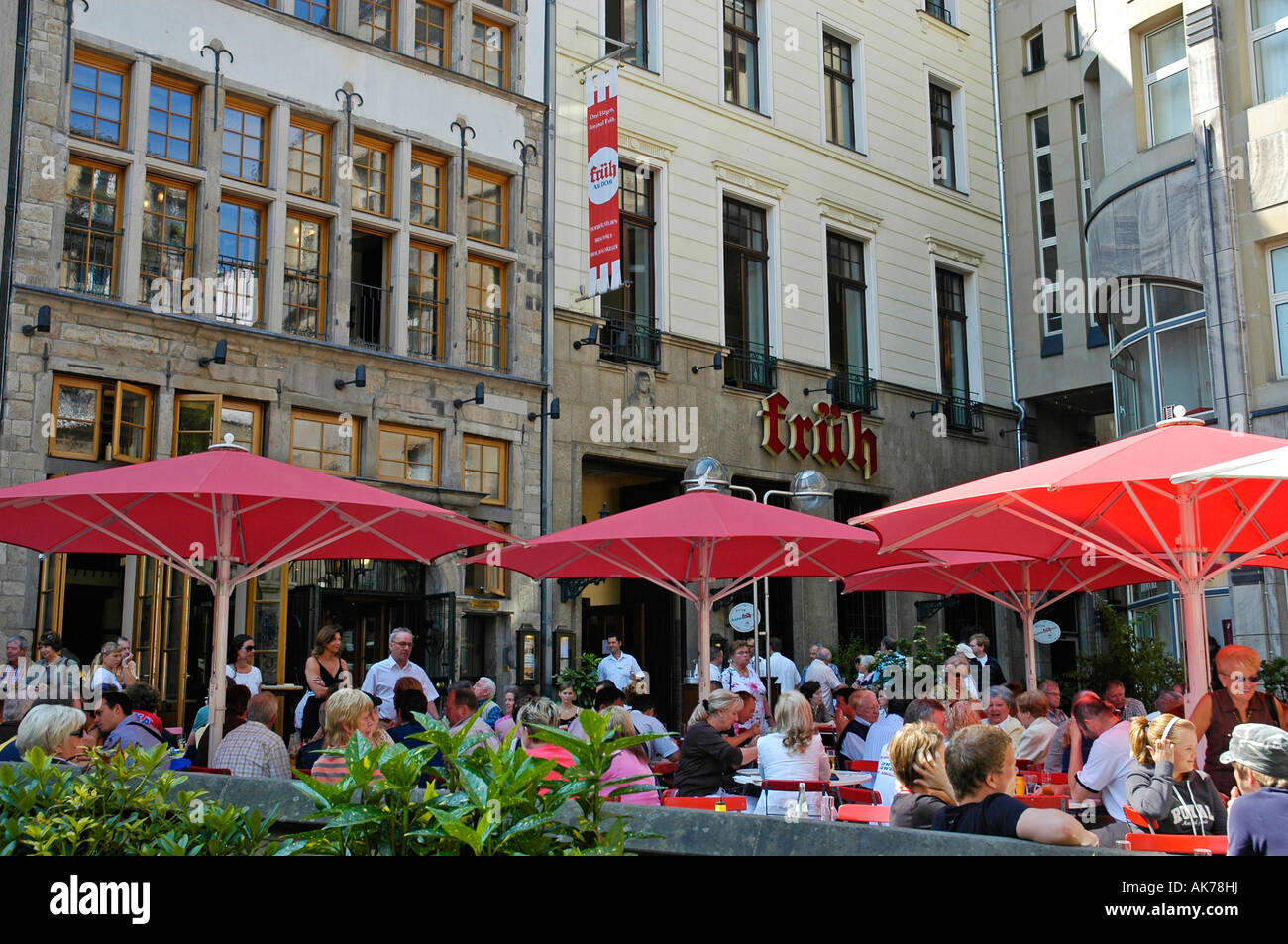 Brew house 'Fruh am Dom' / Cologne - Stock Image
