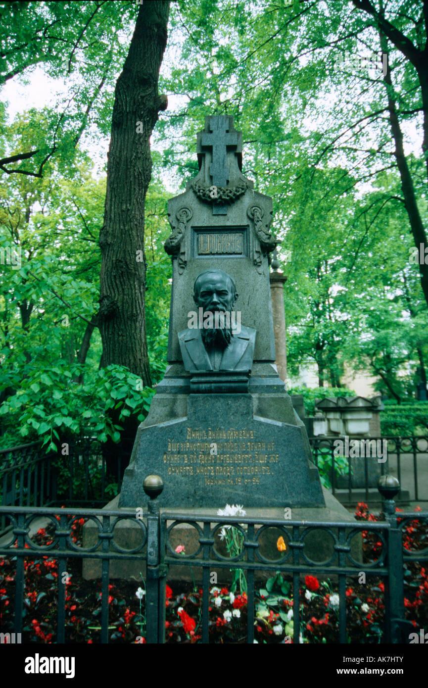 Cemetery / St. Peterburg - Stock Image