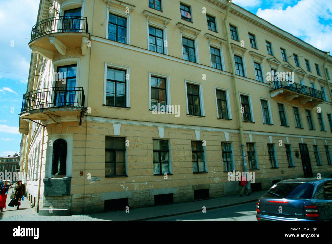 Dostojewski Museum / St. Petersburg - Stock Image