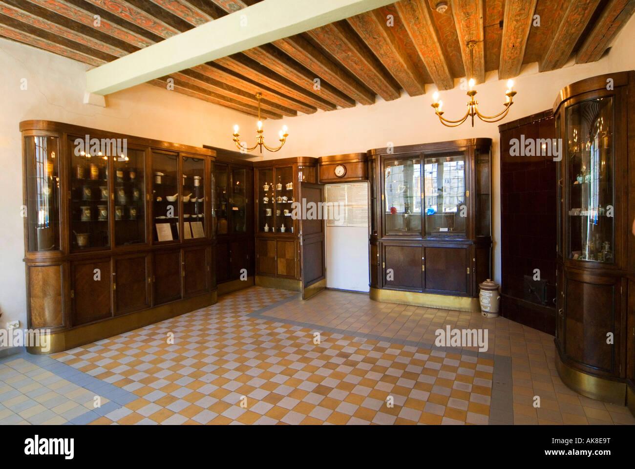Old Pharmacie / Tallinn Stock Photo