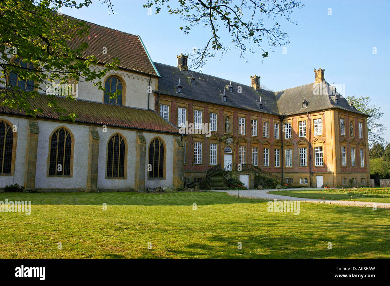 Monastery Marienfeld / Harsewinkel Stock Photo: 14919648
