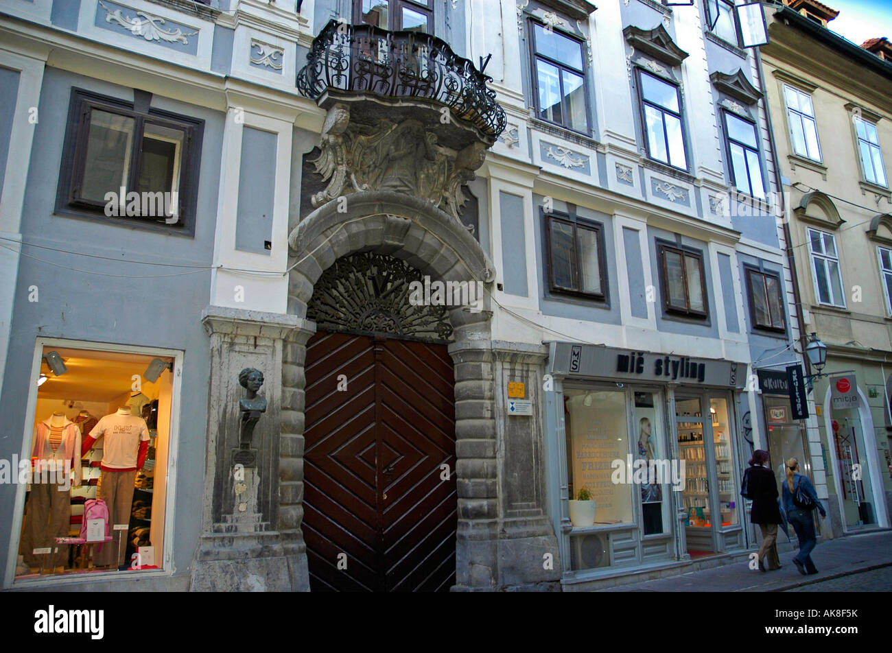 House Lili Novy / Ljubljana - Stock Image