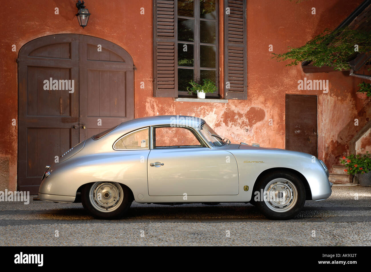 1956 Porsche 356 A 1599 GS Carrera - Stock Image