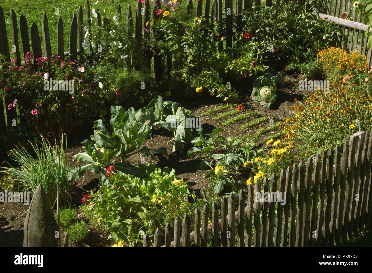 Delicieux Farmers Garden In The Open Air Museum Of Dietenheim Close To ...