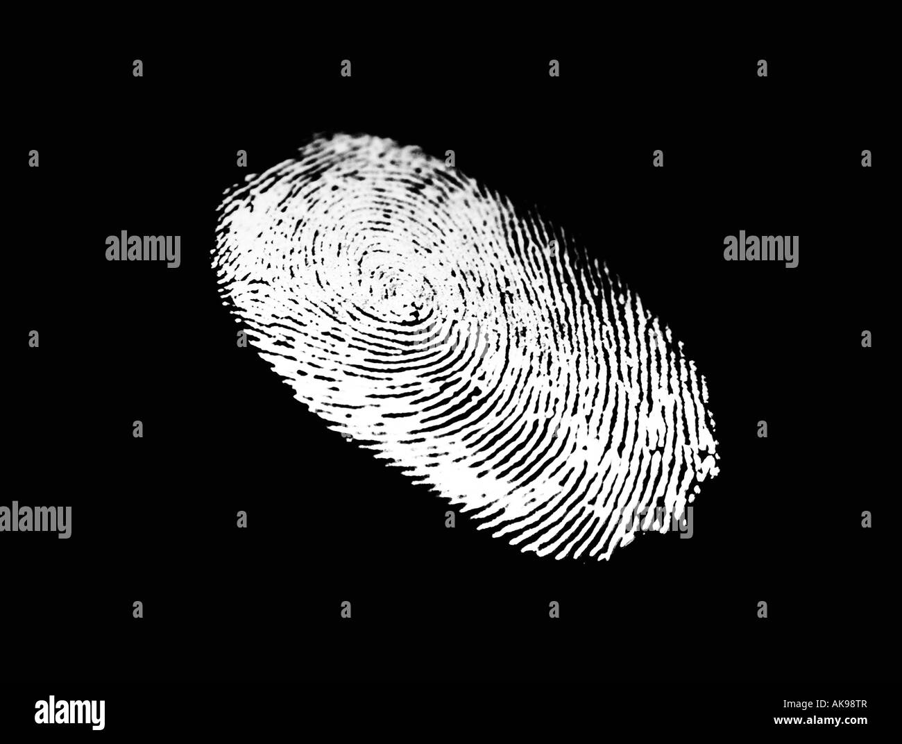 finger print - Stock Image