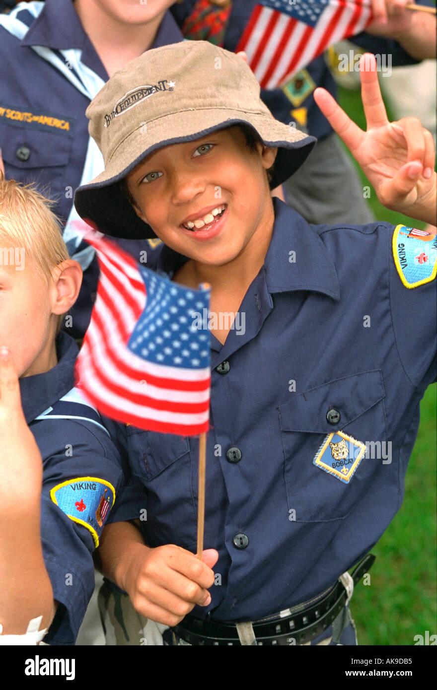 Boy Scout Cub Scout Portrait Stock Photos & Boy Scout Cub