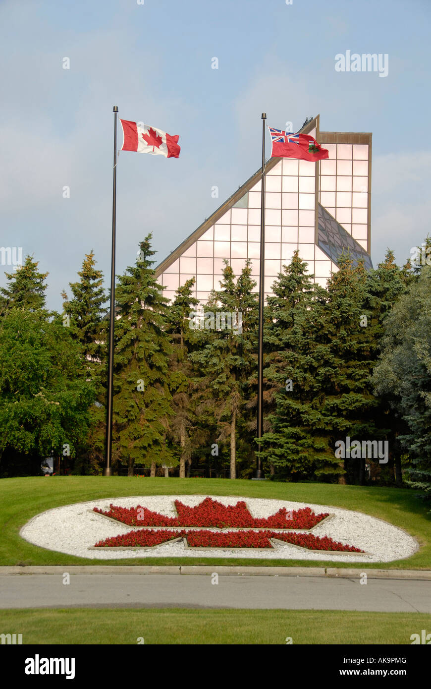 Royal Canadian Mint in Winnipeg Manitoba Canada designed by