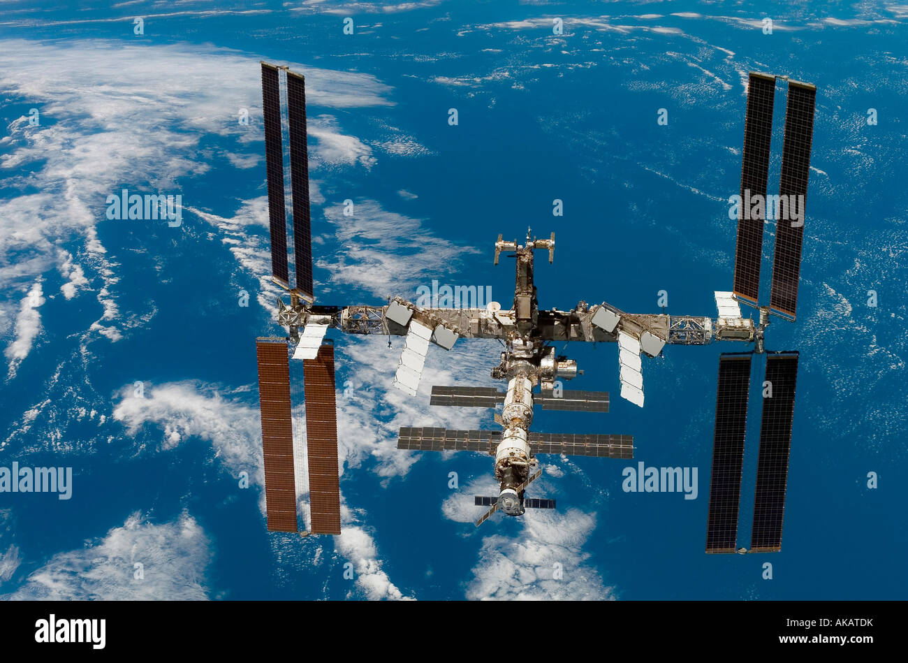 The International Space Space Stock Photo