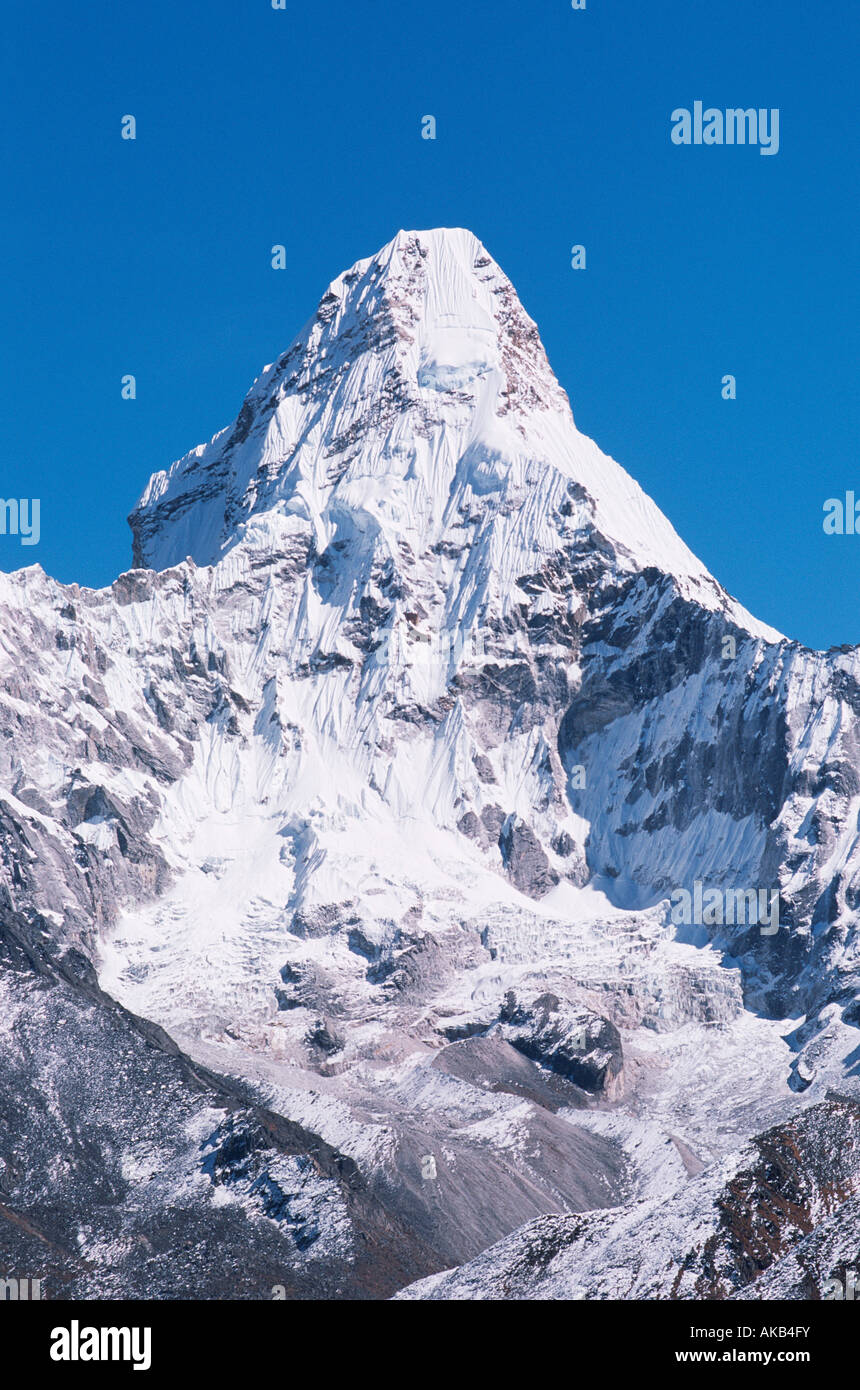 Ama Dablam, Everest Region, Nepal - Stock Image