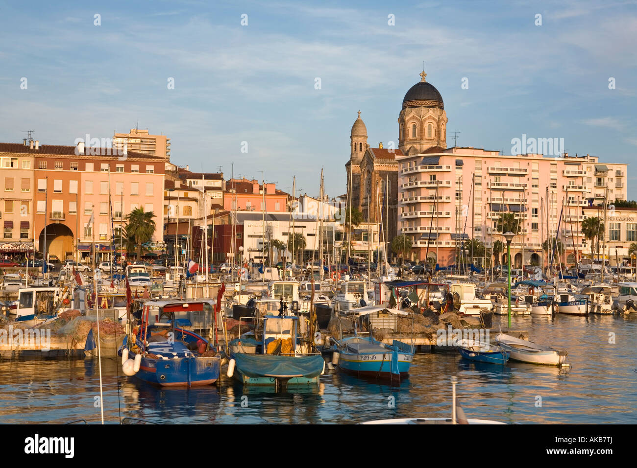 harbour church st raphael cote d 39 azur france stock photo 14945681 alamy. Black Bedroom Furniture Sets. Home Design Ideas