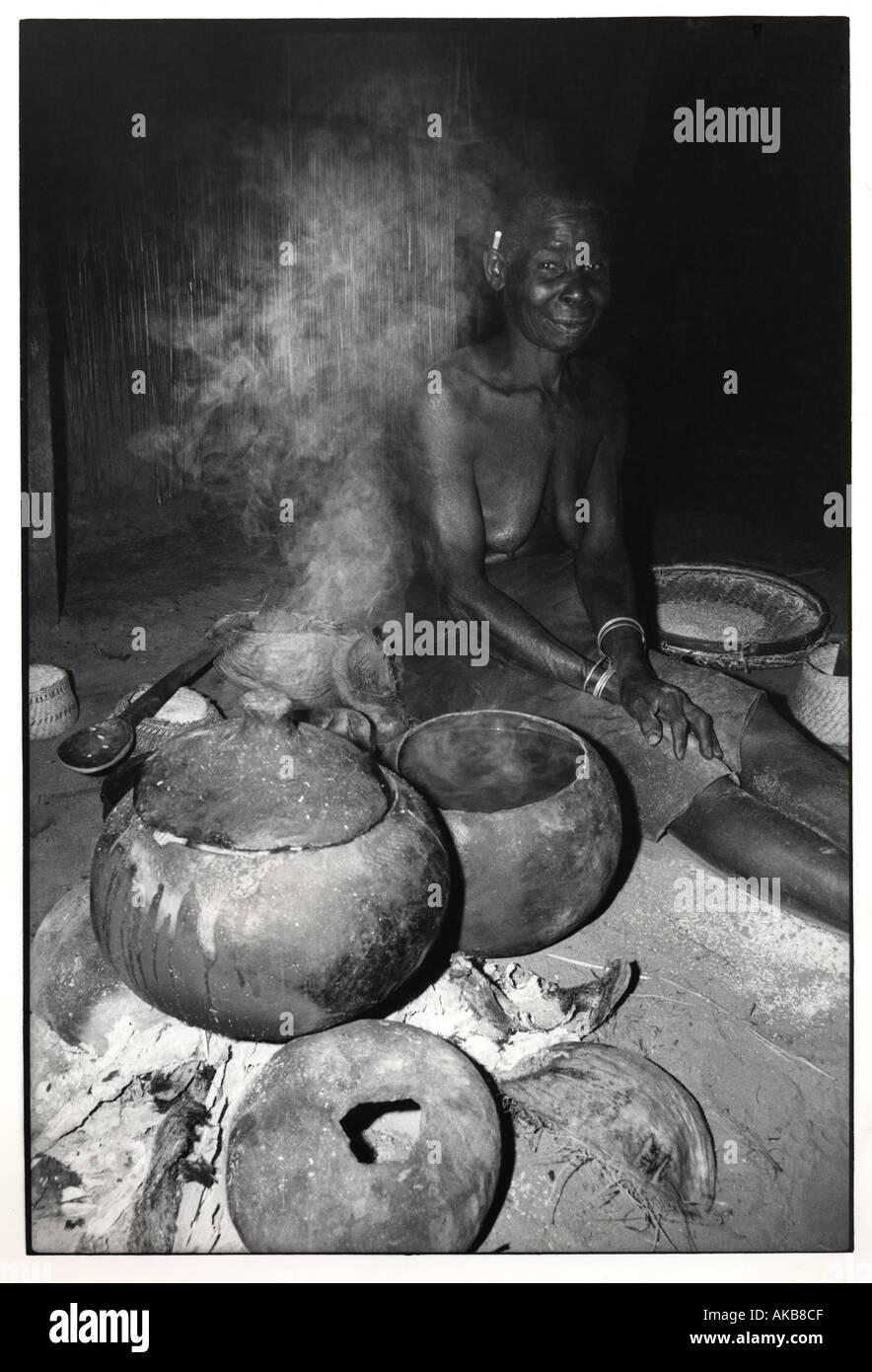 Food making - Stock Image