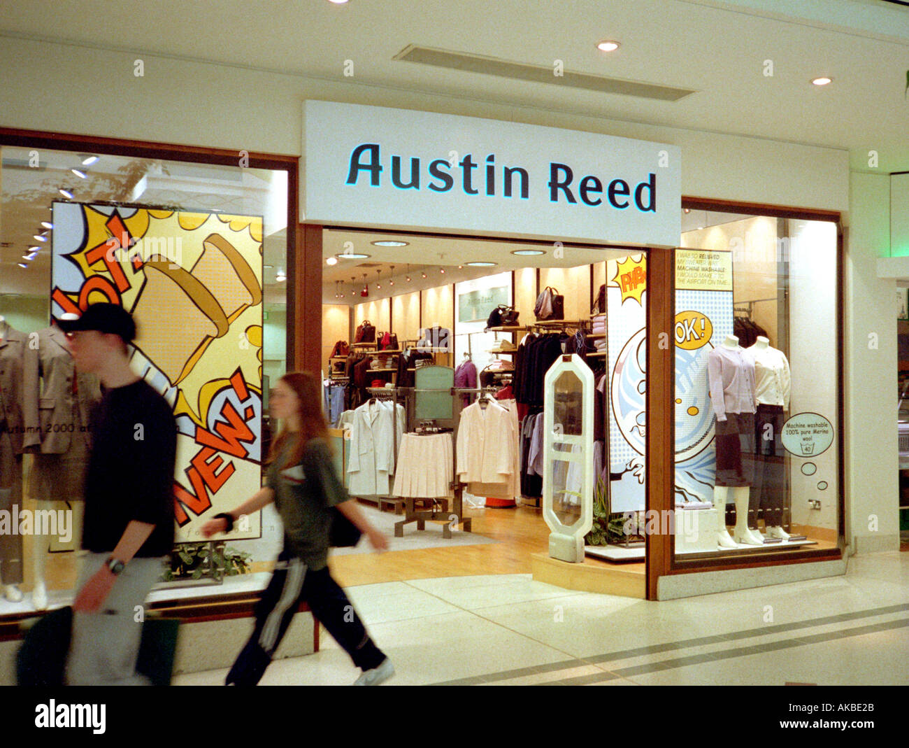 Austin Reed Clothing Shop Bromley Kent Uk Stock Photo Alamy