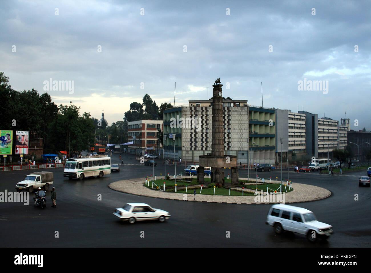 Arat Kilo, Addis Ababa, Ethiopia, Africa - Stock Image