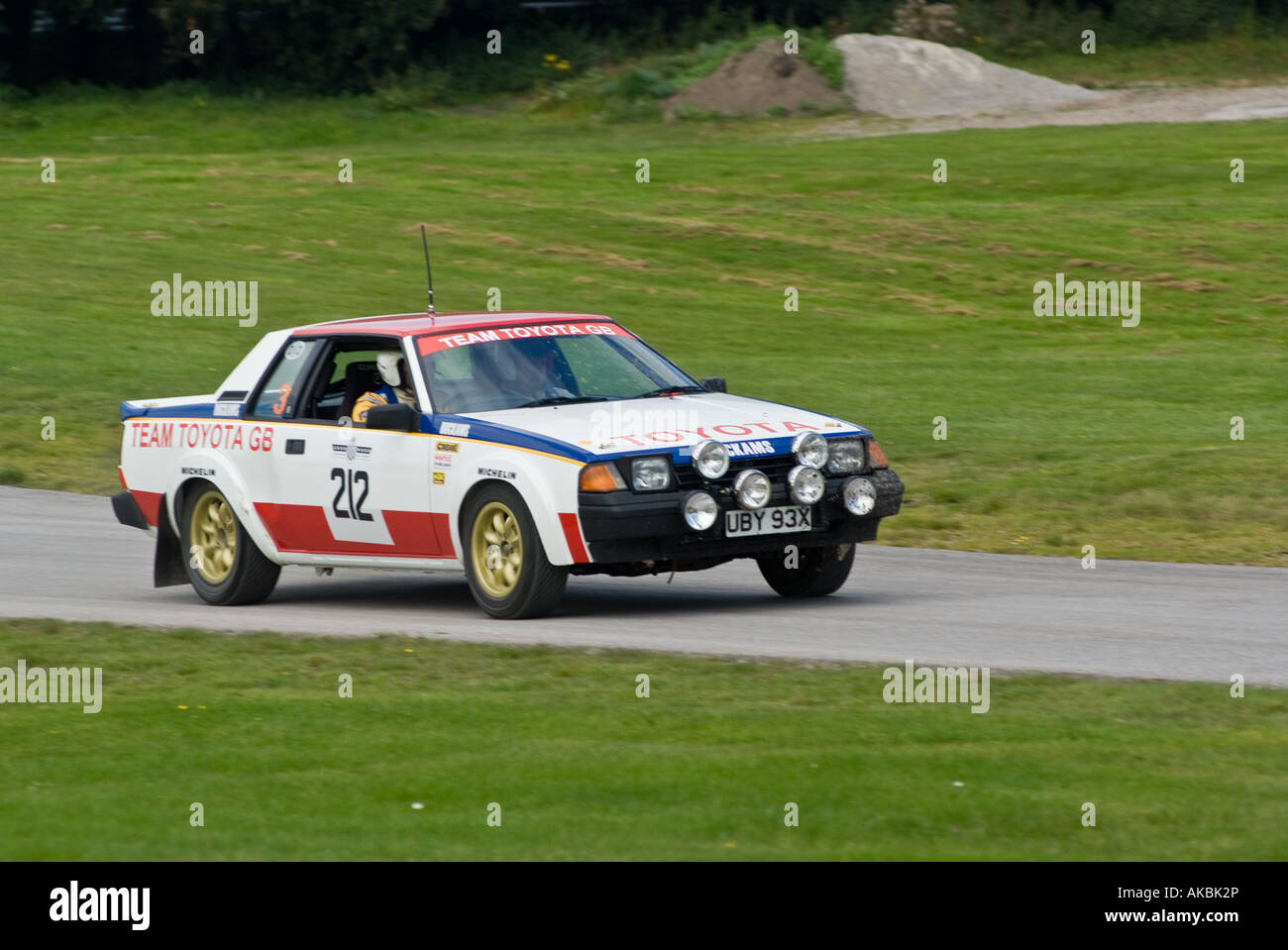 Toyota Celica Group B Historic Rally Car at Oulton Park Motor Racing ...