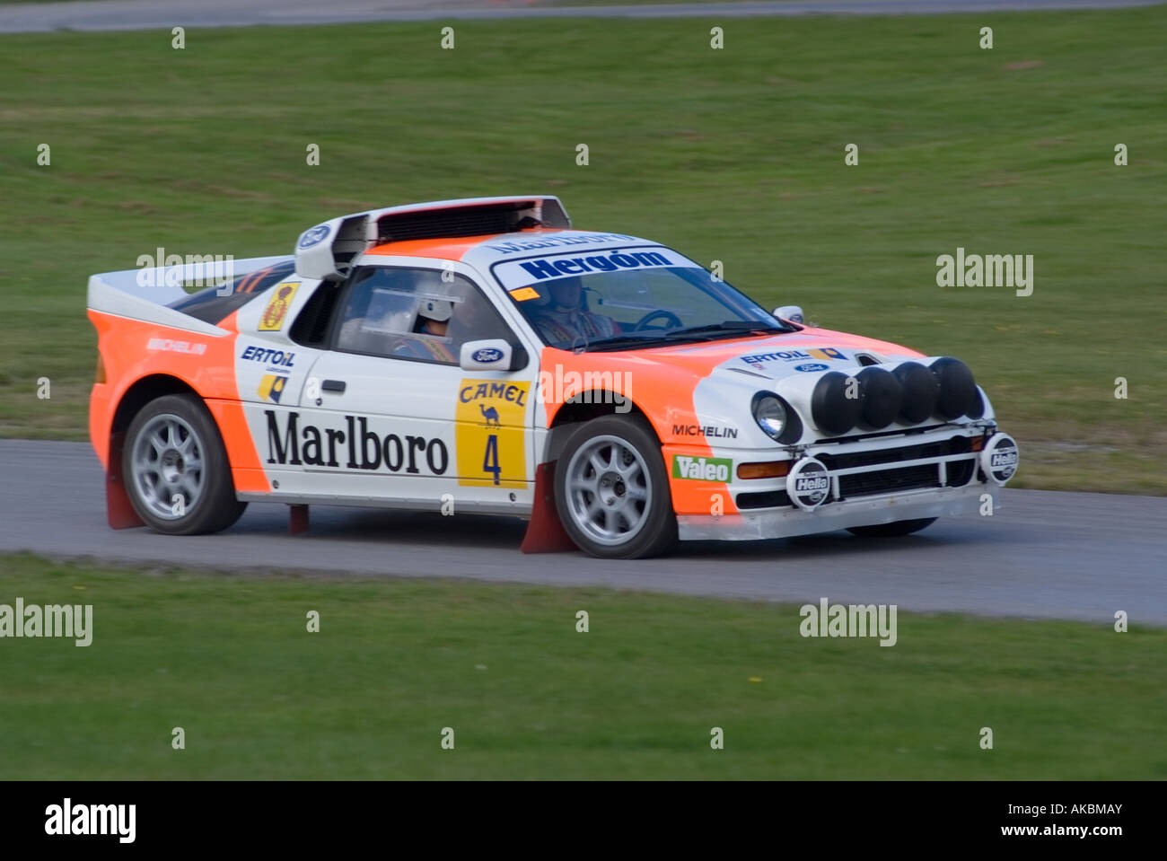 Ford RS200 Group B Historic Rally Car at Oulton Park Motor Racing ...