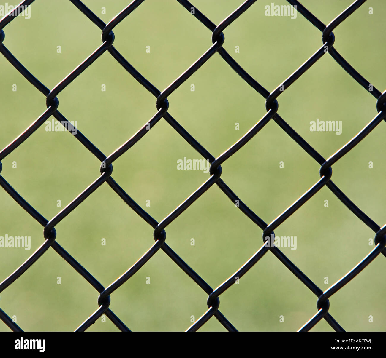 CHAIN-LINK FENCE, SQUARES, GRAPHICS - Stock Image