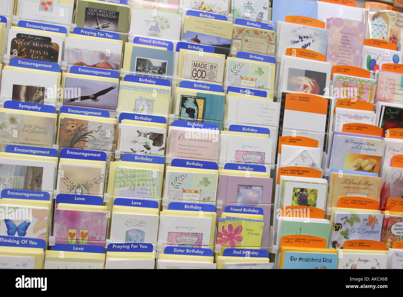 Miami Beach Florida CVS Pharmacy Greeting Cards Retail Display