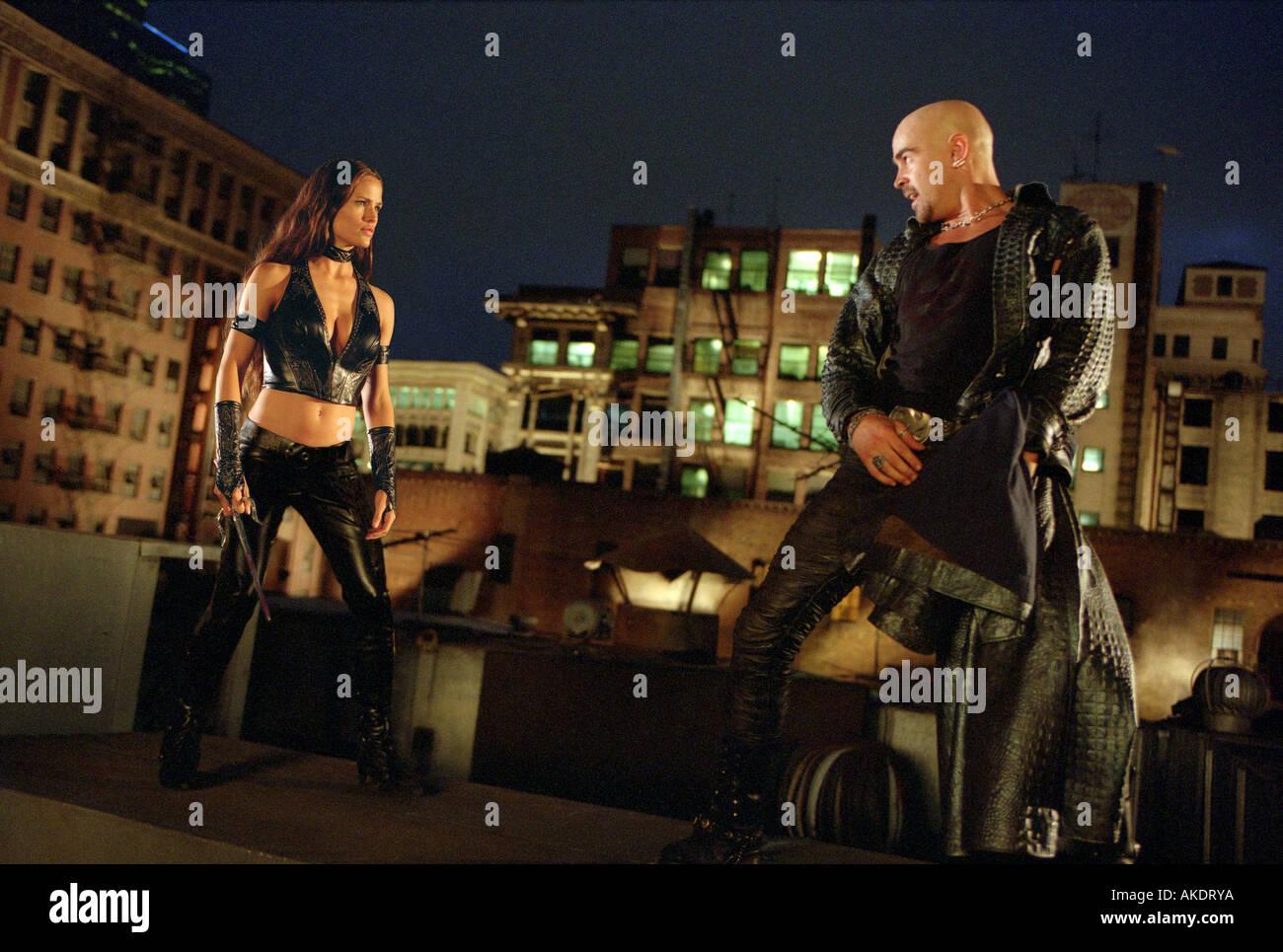 DAREDEVIL 2003 TCF film with Jennifer Garner and Colin Farrell - Stock Image