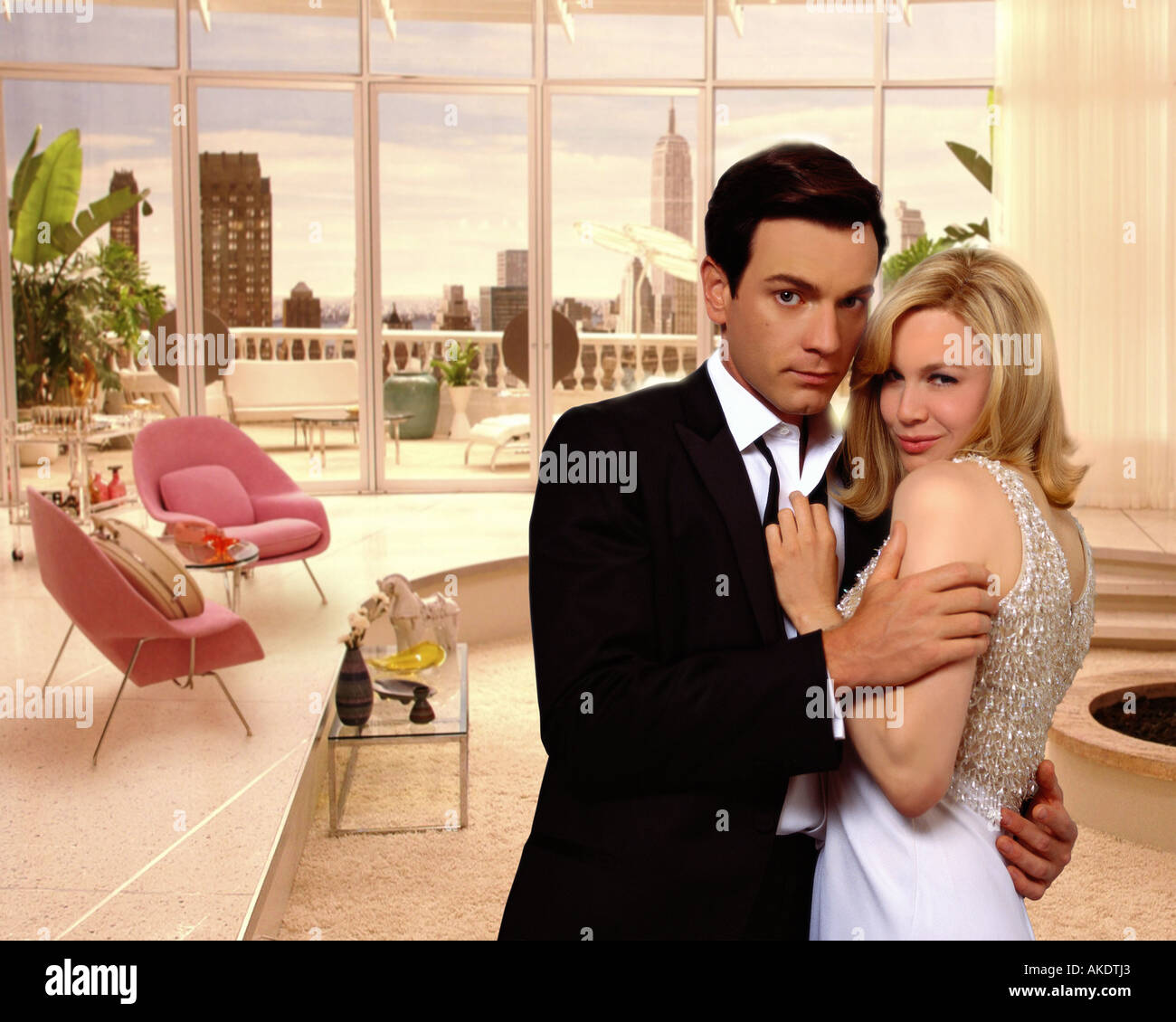 DOWN WITH LOVE 2003 TCF Fox film with Ewan McGregor and Renee Zellweger - Stock Image