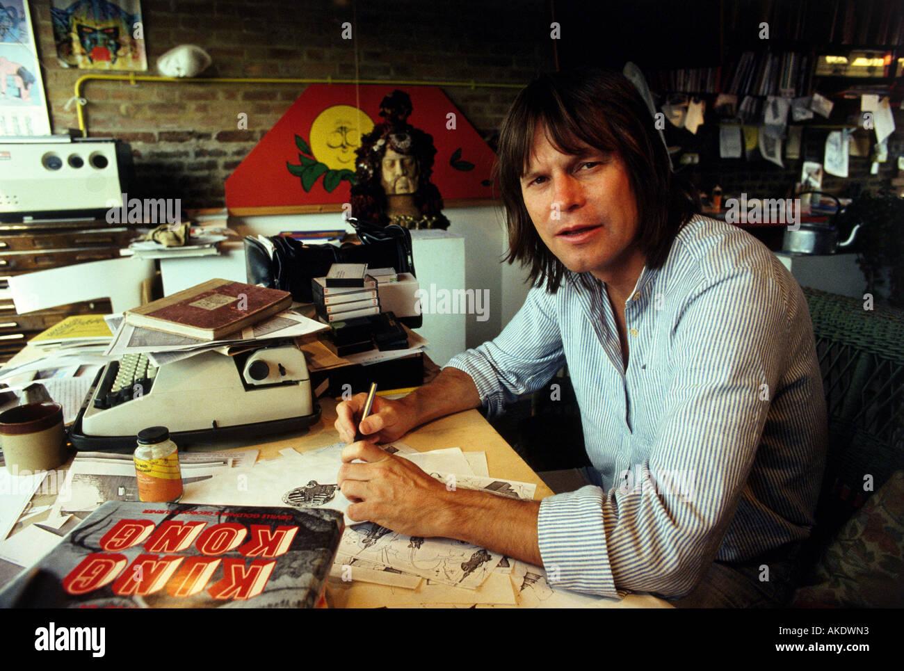 TERRY GILLIAM US film director writer and animator - Stock Image