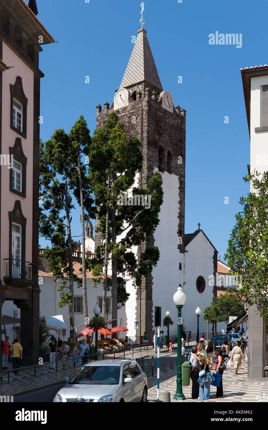 Cathedral (Se), Funchal, Madeira, Portugal - Stock Image