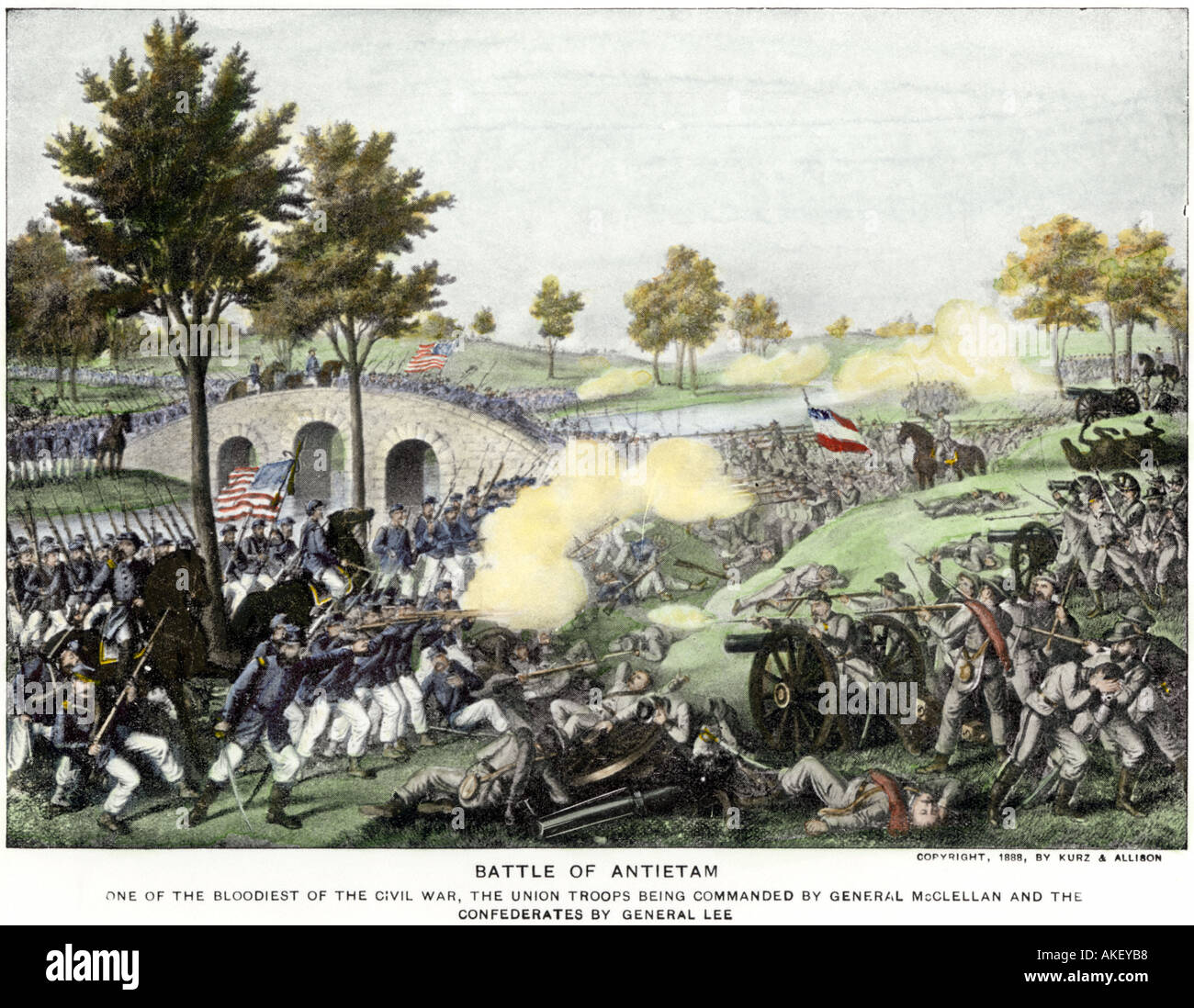 the battle of antietam essay The battle of antietam / æ n ˈ t iː t əm /, also known as the battle of sharpsburg, particularly in the southern united states, was a battle of the american civil war, fought on september 17, 1862, between confederate general robert e lee's army of northern virginia and union general george b mcclellan's army of the potomac, near.