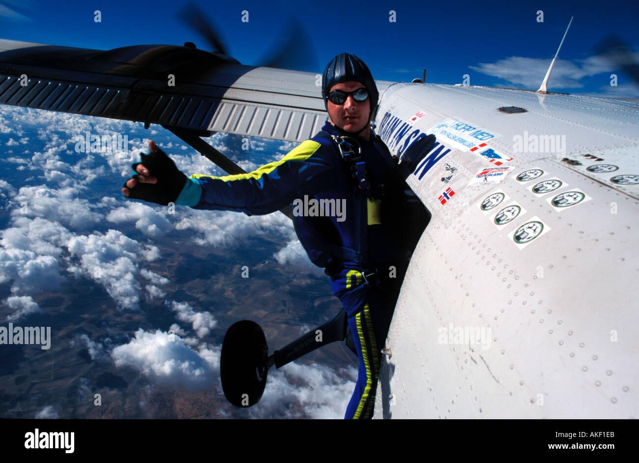 dfd0855d9bb Skydiver Ready Jump Stock Photos   Skydiver Ready Jump Stock Images ...