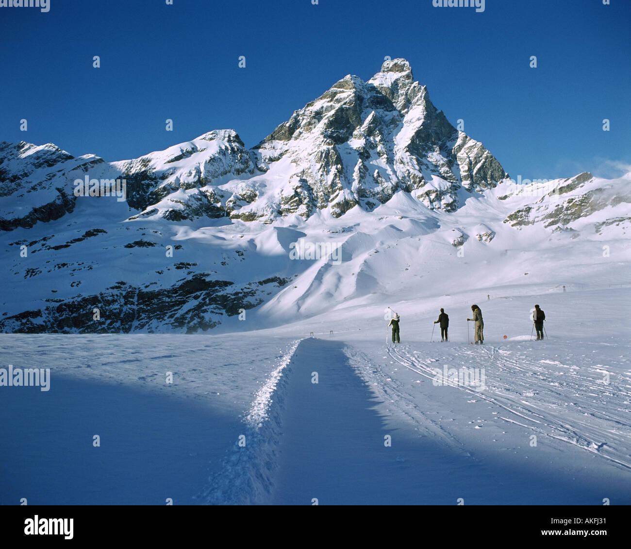 IT - AOSTA: Monte Cervinio - Stock Image