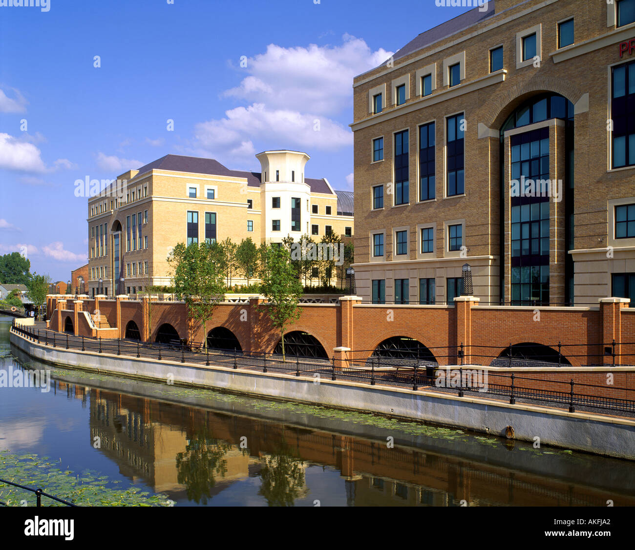GB - BERKSHIRE: Kennet Avon Canal at Reading - Stock Image
