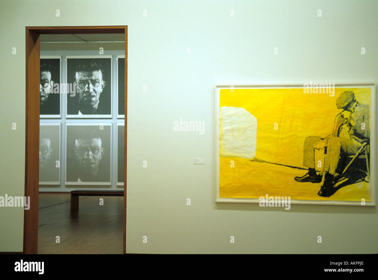 Österreich, Wien, Albertinaplatz, Palais Erzherzog Albrecht (Albertina), Sammlung  Moderne Kunst