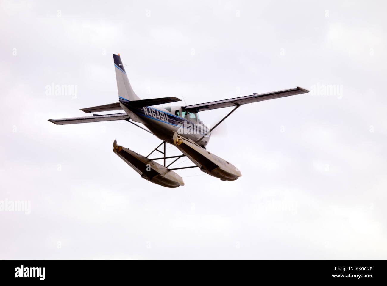 Cessna 206 Floatplane Stock Photos & Cessna 206 Floatplane Stock