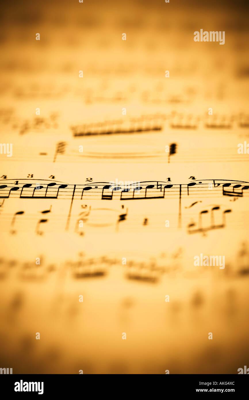 Sheet Of Music Stock Photos & Sheet Of Music Stock Images - Alamy