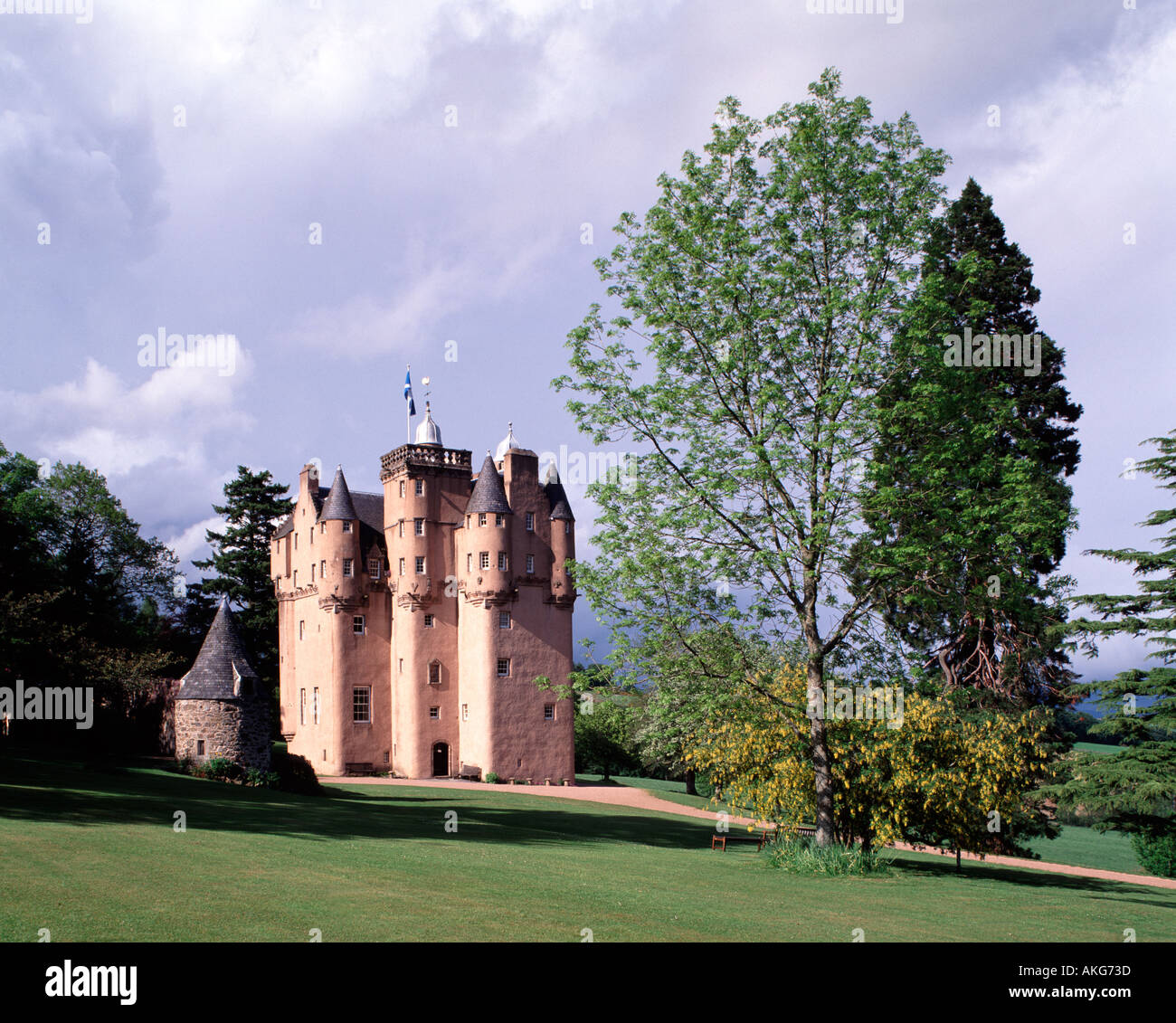 Craigievar Castle, Grampian Region, Scotland, UK - Stock Image