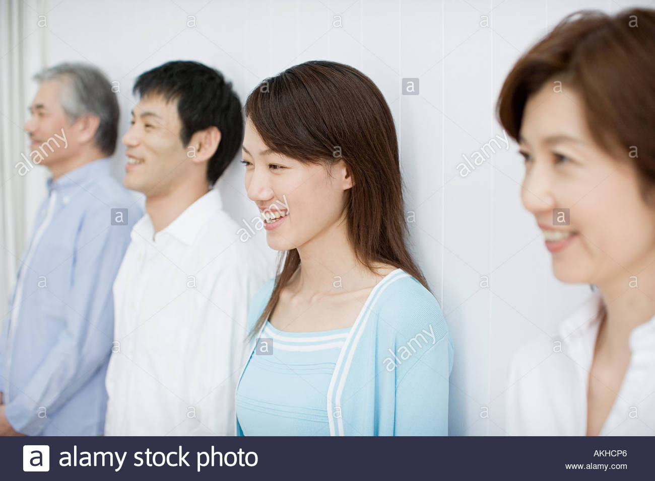 Grown up family - Stock Image