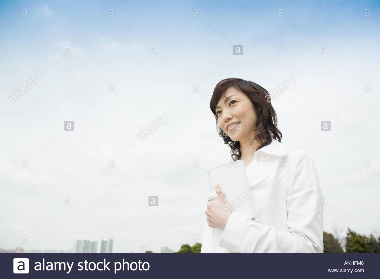 Stylish woman - Stock Image