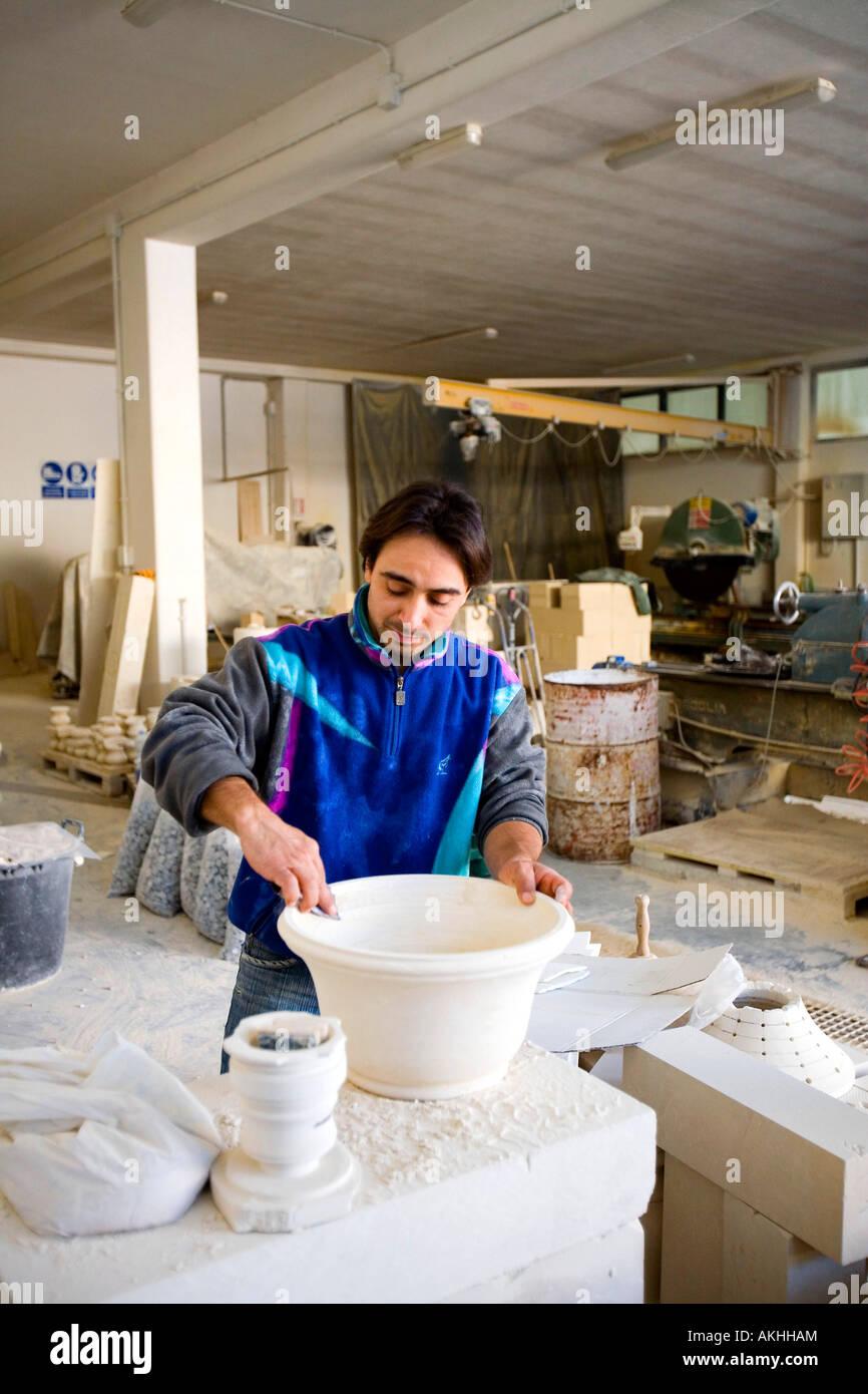 Leccese Stone Manufacturing Musardo Factory San Donaci Puglia Italy