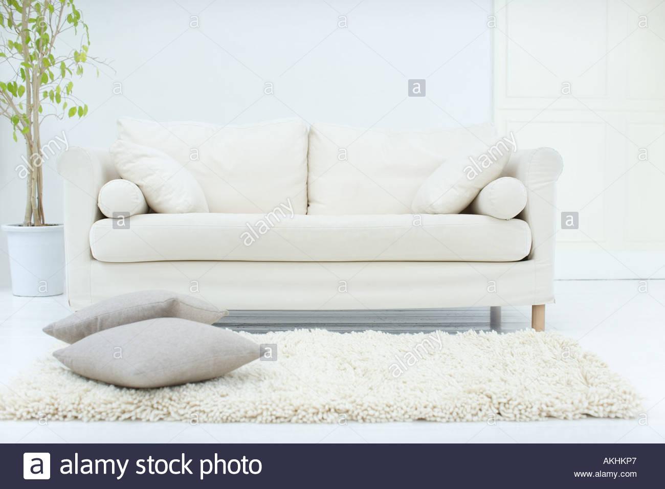 Stylish living room - Stock Image