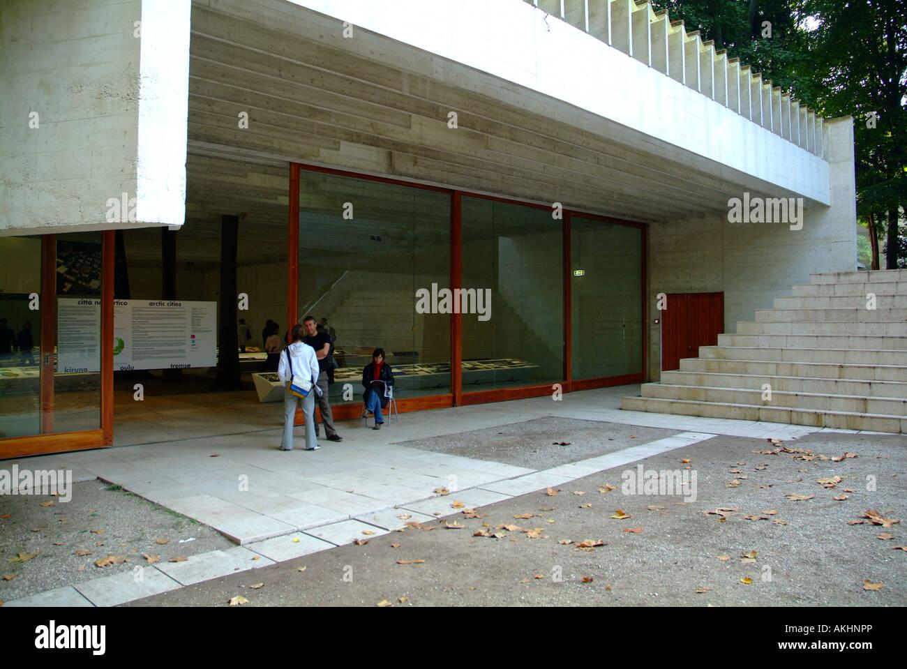 Nordic Country pavilion, Biennale di Architettura exibition, Venice, Veneto, Italy Stock Photo
